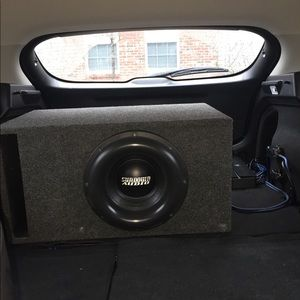 Sundown Audio X12 V2 D2 Subwoofer +Box